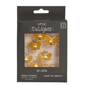 LED Bumble Bee Fairy Lights String